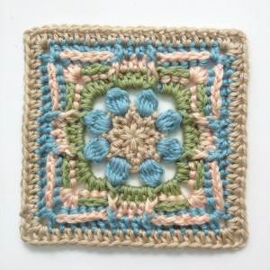 Bingley, 6 inch afghan block