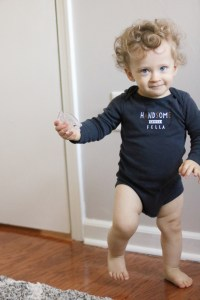 Boy wearing Carter's Original Bodysuit