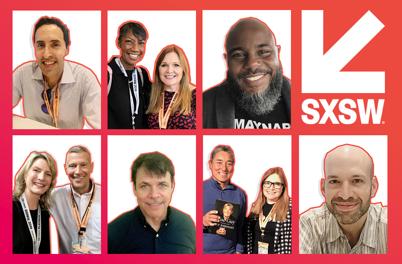 Feature Images of People From SXSW