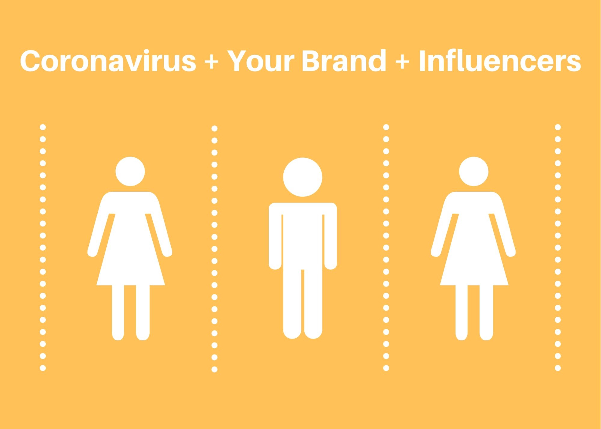 coronavirus, brands, and influencers