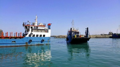Fähre nach Masirah Island im Oman