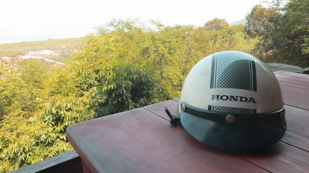 Ausblick vom View Point Restaurant im Inselzentrum von Ko Lanta