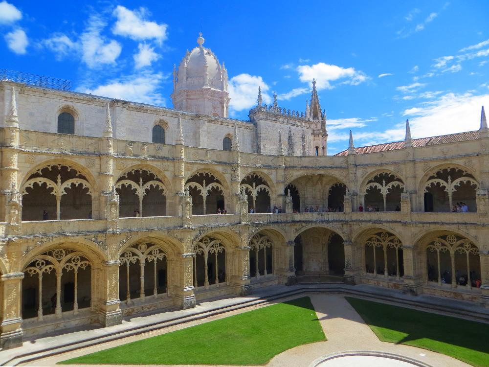 Kreuzgang des Mosteiro dos Jerónimos