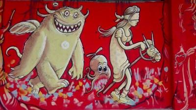 Street Art in der LX Factory