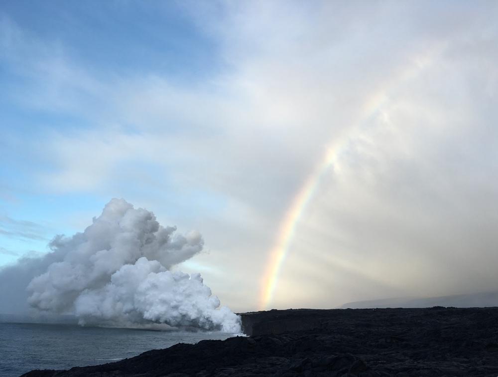 Lava Ocean Entry, BIg Island