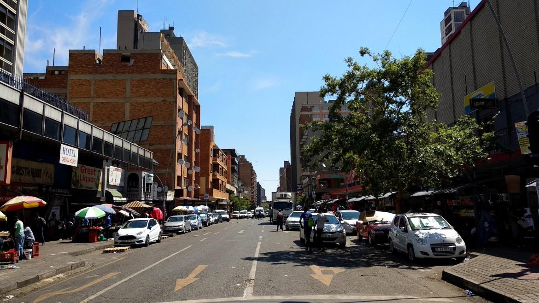 Hillbrow Pretoria Street