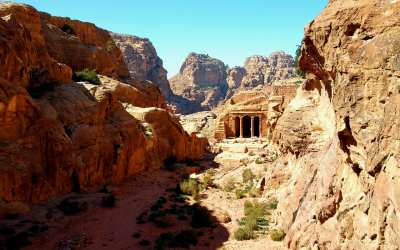 Wadi Farasa in Petra