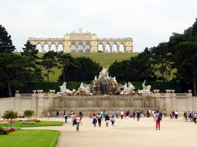 Die Gloriette in Schönbrunn