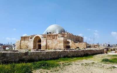 In der Zitadelle von Amman