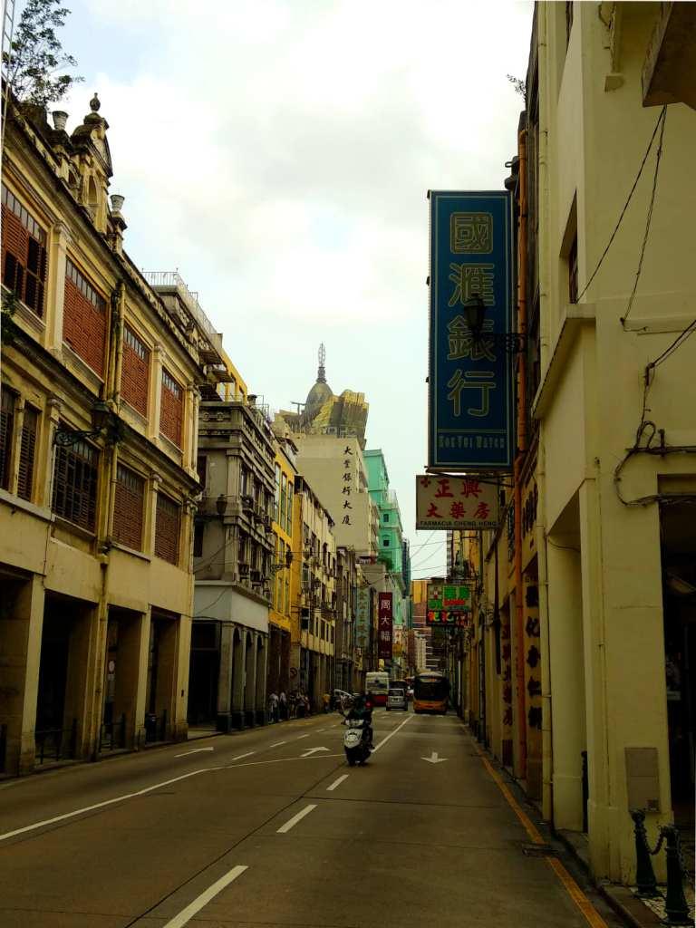 In der Innenstadt von Macau
