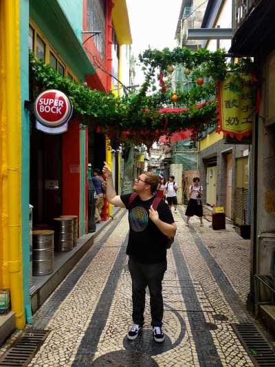 Marc Möllmann in Macau