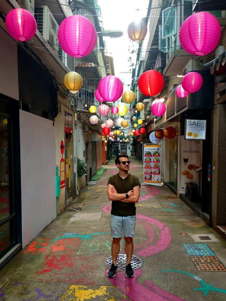 Nils Werschnik in Macau