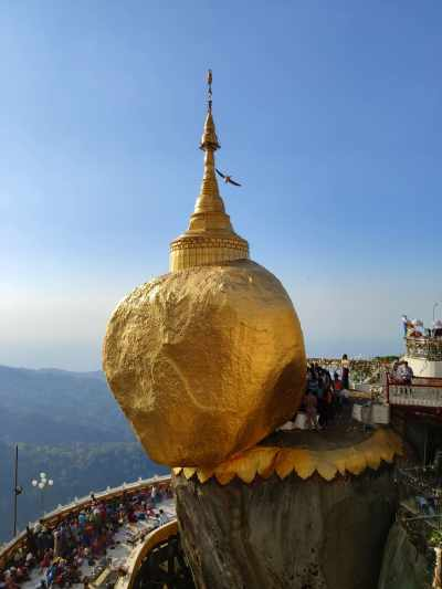 Golden Rock, Myanmar