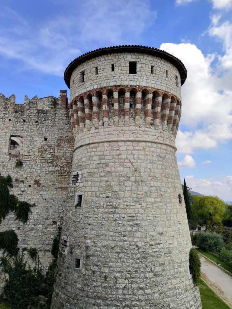 Burgturm in Brescia