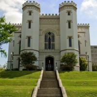 Baton Rouge's 'Little Sham of a Castle'