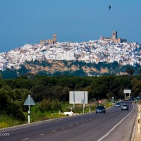 Learning to Drive in the White Hill Towns of Andalusia, Spain