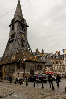 Saint Chaterine Church, Honfleur, France