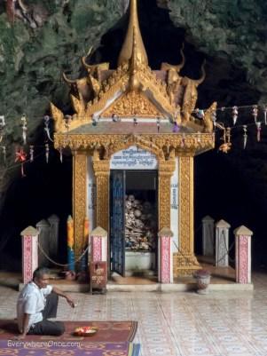 Killing Caves in Phnom Sampeau Battambang Cambodia