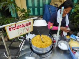 Corn vendor Bangkok