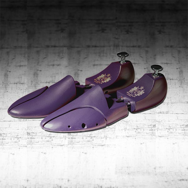 Eves & Gray Purple Shoe Trees 1