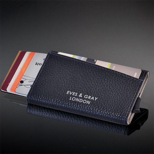 RFID Italian Leather Wallet Black 9