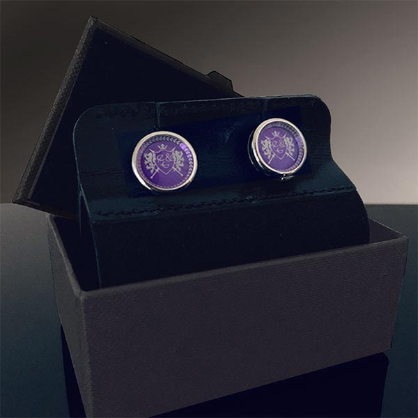 Eves & Gray Cufflinks 3 With Logo