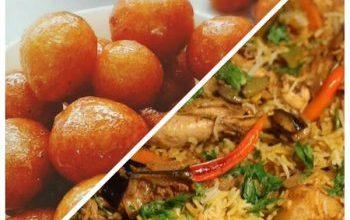 "Photo of 1 أشهى أطباق رمضان …. (المقلوبة""بالدجاج"" ..و..حلى العوامة )"