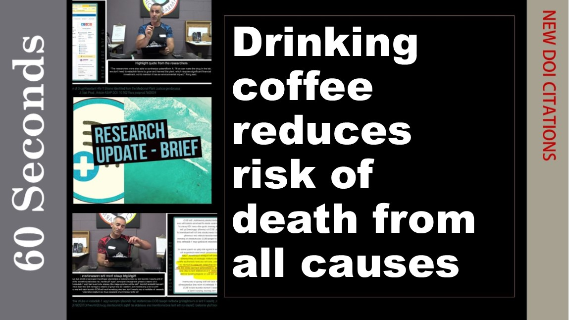 Drinking coffee reduces risk of death from all causes, study finds