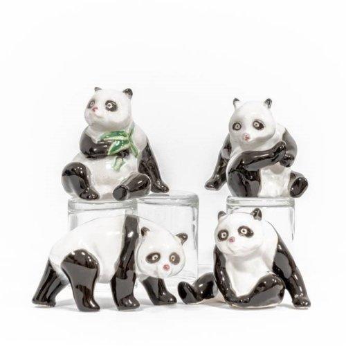 Panda Figurines
