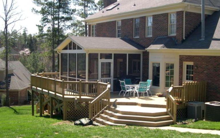Geometrical deck design