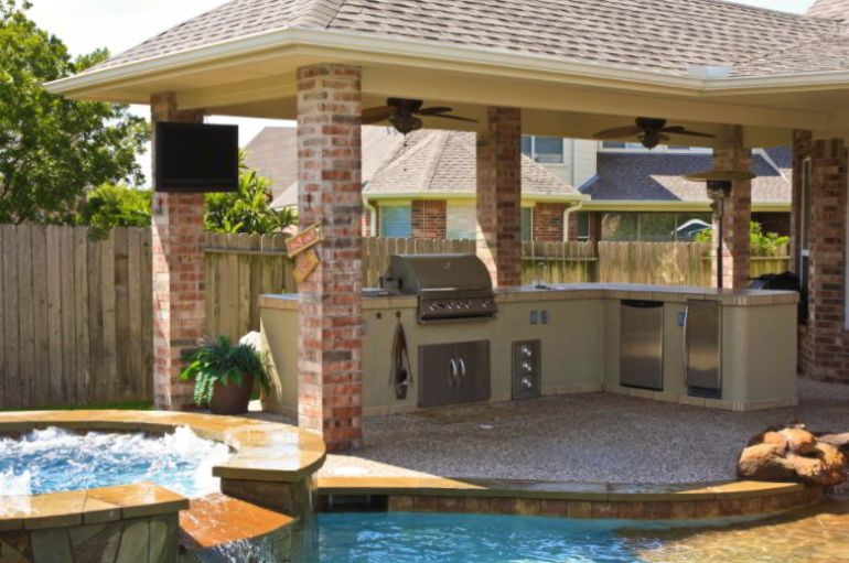 Luxury grill patio ideas