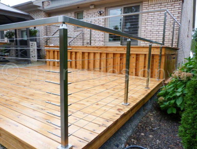 Modern Stainless Handrail Ideas