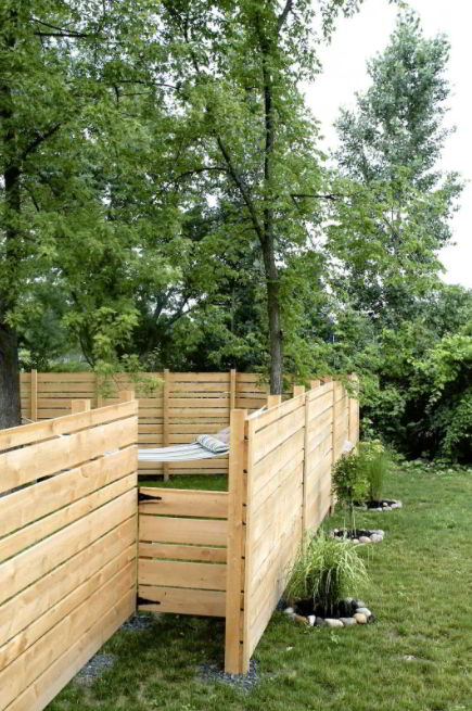 Strong Pinewood Fencing
