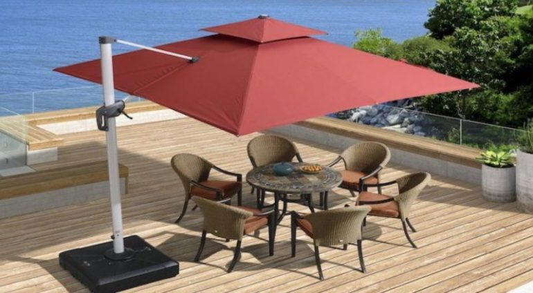 Umbrella Deck Ideas