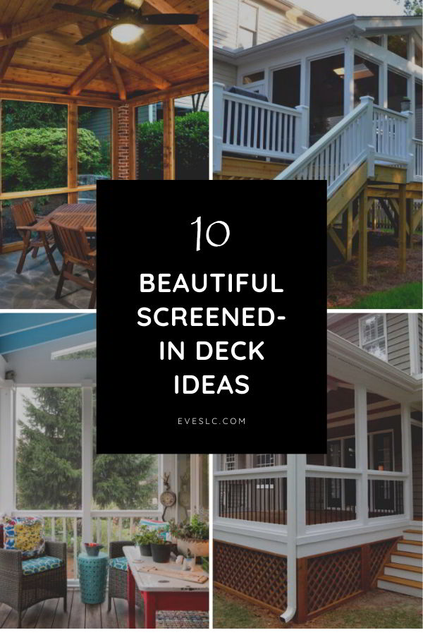Best screened in deck ideas