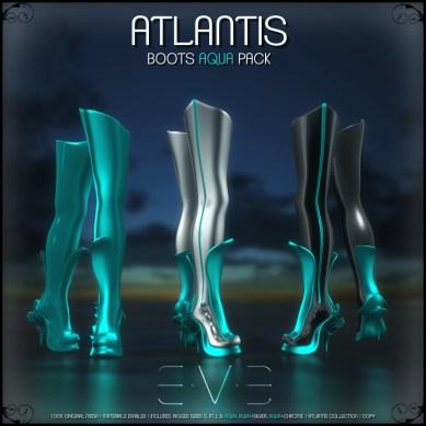 E.V.E (V) ATLANTIS Boots Aqua Pack