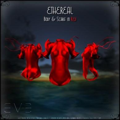 E.V.E (V) Ethereal Body Red
