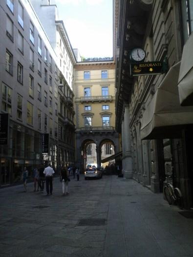 alleys near Duomo, vinneve foto