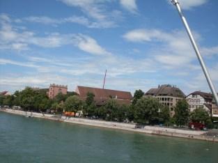Basel river rhine, vinneve 2