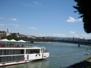 Basel river rhine, vinneve4