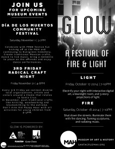 GLOW Program Outside 2014