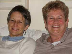 Judy and Susan