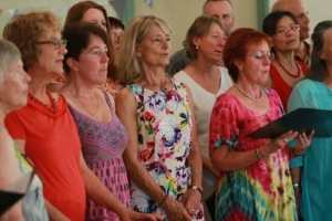Wingsong Choir at the 70th