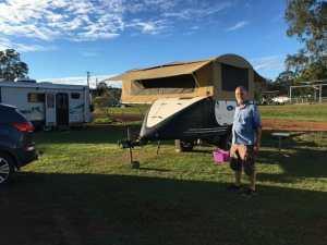 The Ultimate Camper Trailer and Daniel the ultimate camper