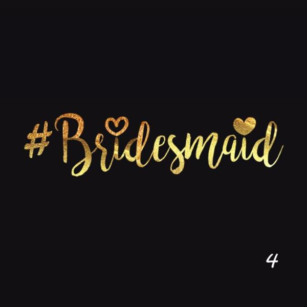 tatoo bridesmaid evjf