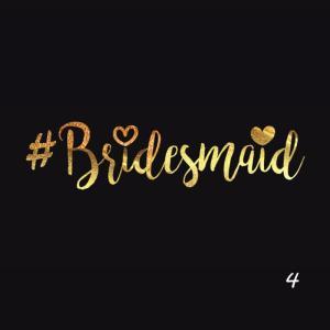 5 tatouages #Bridesmaid