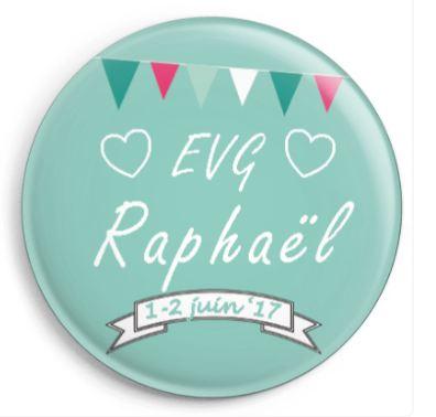 Badge personnalisé EVG