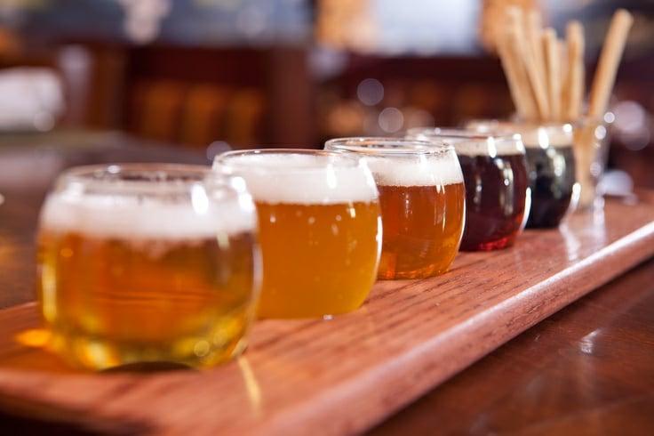 Dégustation de bières EVG EVJF