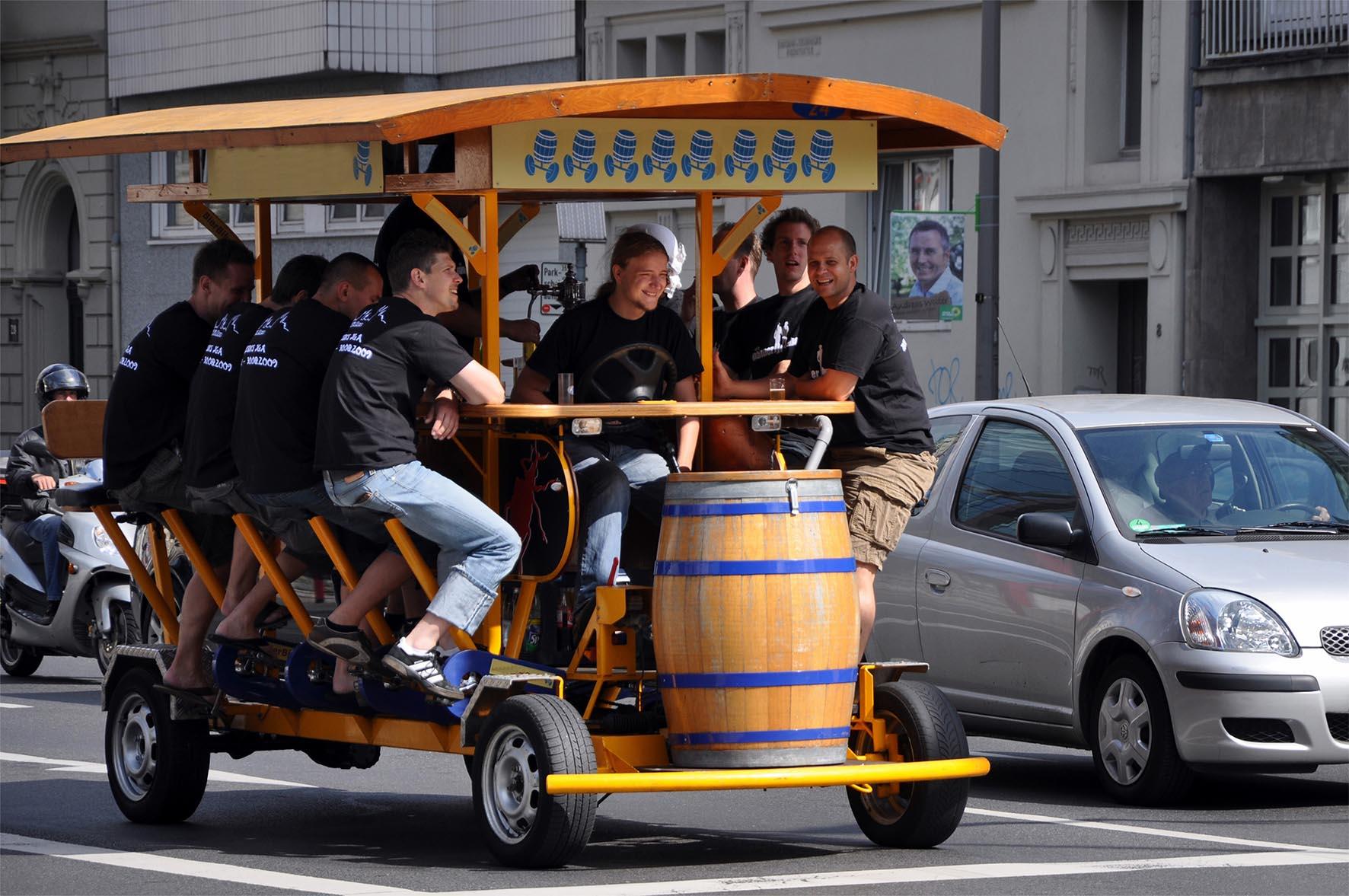 Vélo à bières