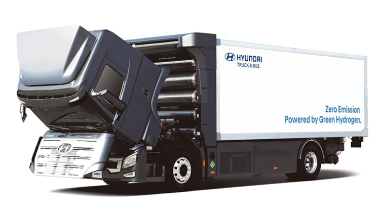 Hyundai Motor Hydrogen mobility solution HDC-6 NEPTUNE Concept-2